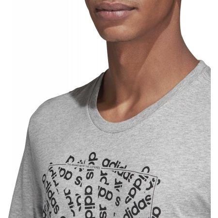 Pánské tričko - adidas C LINEAR SCATTER TEE - 8
