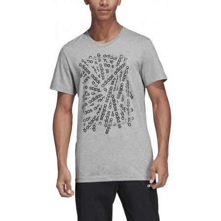 Pánské tričko - adidas C LINEAR SCATTER TEE - 3