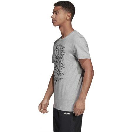 Pánské tričko - adidas C LINEAR SCATTER TEE - 5