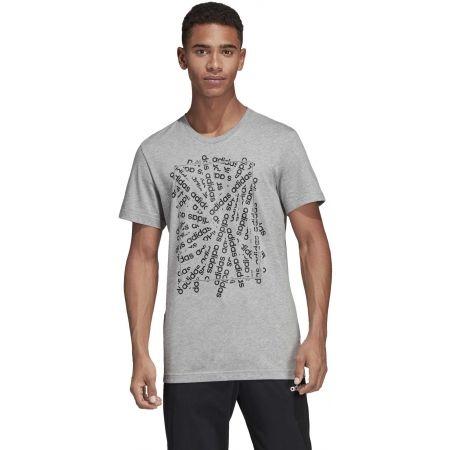 Pánské tričko - adidas C LINEAR SCATTER TEE - 4
