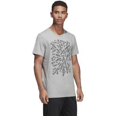 Pánské tričko - adidas C LINEAR SCATTER TEE - 6