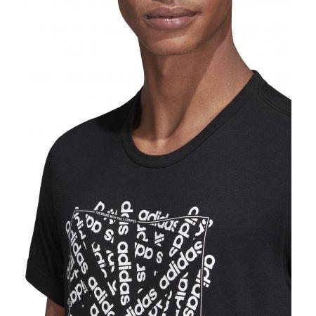Pánske tričko - adidas C LINEAR SCATTER TEE - 8