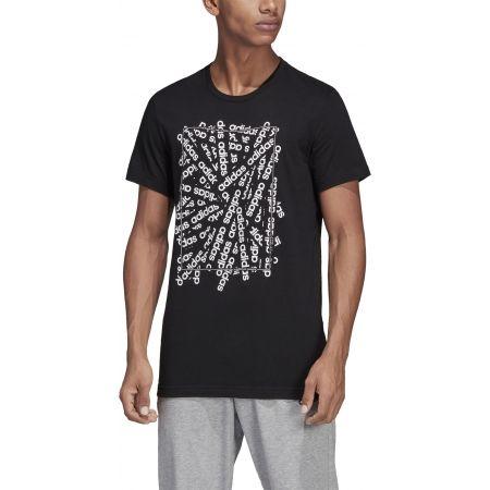 Pánske tričko - adidas C LINEAR SCATTER TEE - 3