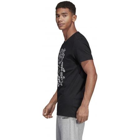 Pánske tričko - adidas C LINEAR SCATTER TEE - 5