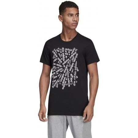 Pánske tričko - adidas C LINEAR SCATTER TEE - 4