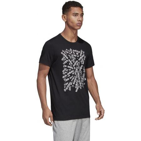 Pánske tričko - adidas C LINEAR SCATTER TEE - 6