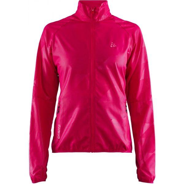 Craft EAZE W růžová XS - Dámská funkční bunda