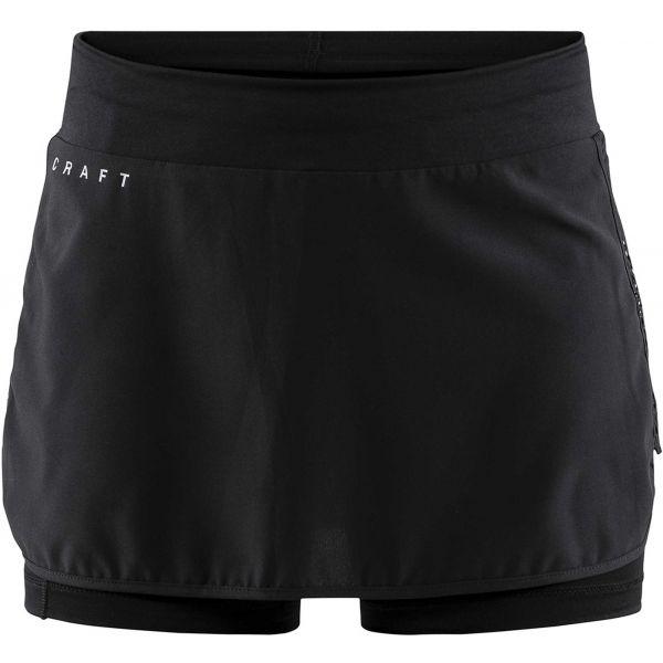 Craft CHARGE W černá L - Dámská funkční sukně