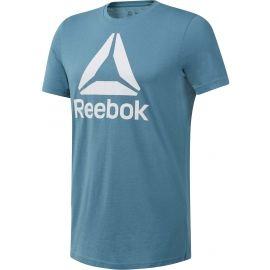 Reebok QQR STACKED - Men's T-shirt
