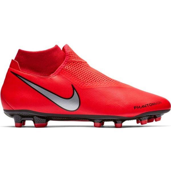 Nike PHANTOM VISION ACADEMY DYNAMIC FIT FG červená 8 - Pánske kopačky
