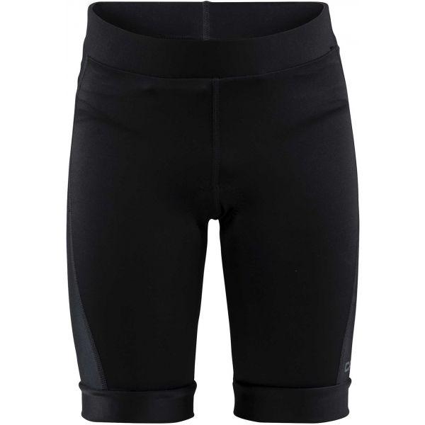 Craft BIKE JR černá 110-116 - Dětské cyklistické kalhoty