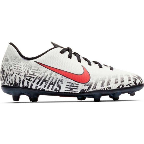 Nike JR MERCURIAL VAPOR 12 CLUB FG bílá 6Y - Chlapecké kopačky