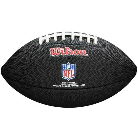 Mini míč na americký fotbal - Wilson MINI NFL TEAM SOFT TOUCH FB BL GB - 3