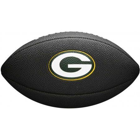 Mini míč na americký fotbal - Wilson MINI NFL TEAM SOFT TOUCH FB BL GB - 2