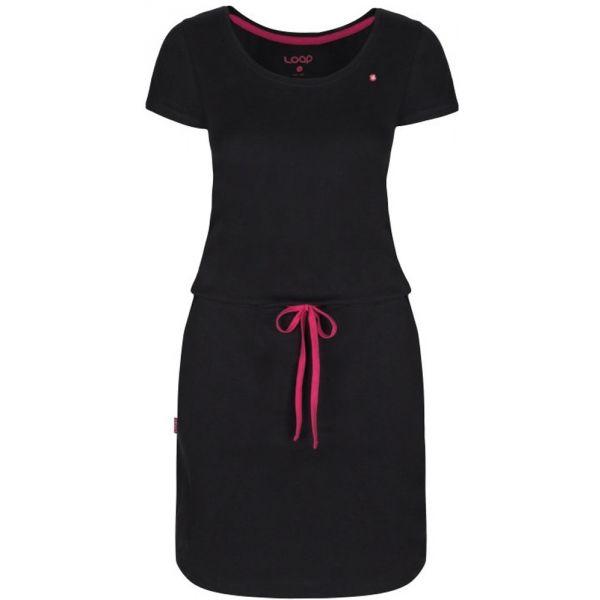 Loap BAMBINA W černá L - Dámské letní šaty