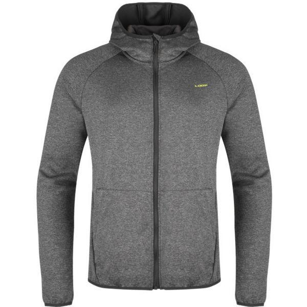 Loap MORRYS sötétszürke XXL - Férfi outdoor pulóver