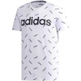 adidas PRINT TEE - Tricou de bărbați