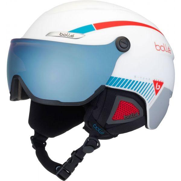 Bolle B-YOND VISOR biały (54 - 58) - Kask narciarski