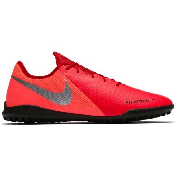 Nike PHANTOM VISION ACADEMY TF červená 7.5 - Pánské turfy