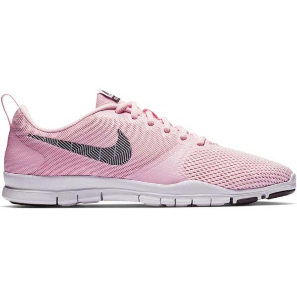 Nike FLEX ESSENTIAL W růžová 8.5 - Dámská fitness obuv