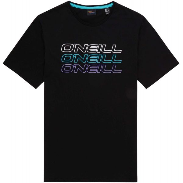 O'Neill LM TRIPLE LOGO ONEILL T-SHIRT fekete XL - Férfi póló
