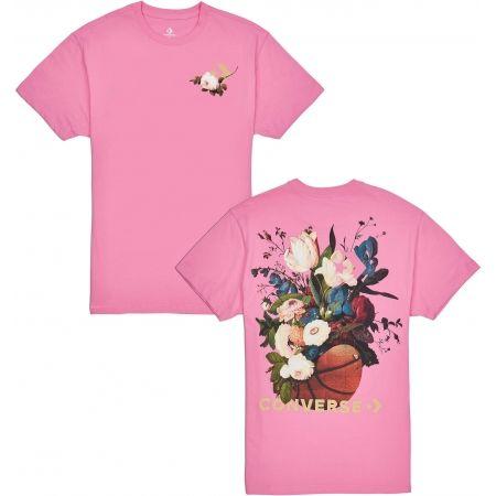 Dámske tričko - Converse FLORAL BASKETBALL RELAXED TEE