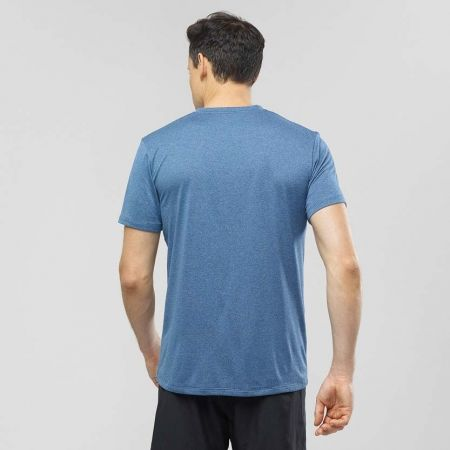 Pánské běžecké tričko - Salomon AGILE GRAPHIC TEE M - 3
