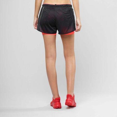 Dámské běžecké šortky - Salomon AGILE 2IN1 SHORT W - 3