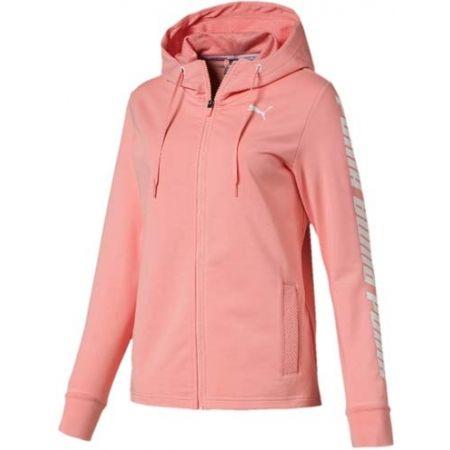 Women's sweatshirt - Puma MODERN SPORTS HOODED JACKET - 1
