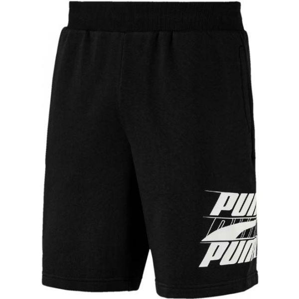 Puma REBEL BOLD SHORTS 9R fekete XXL - Férfi rövidnadrág