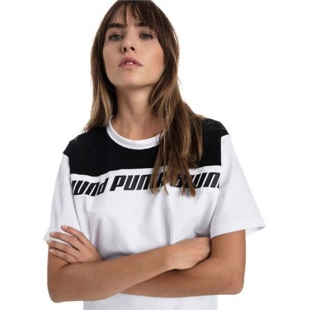 Women's T-shirt - Puma MODERN SPORTS SWEAT TEE - 4