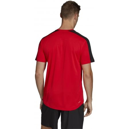Pánske tričko - adidas DESIGN2MOVE TEE PLAIN - 7