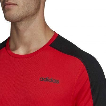 Pánske tričko - adidas DESIGN2MOVE TEE PLAIN - 8