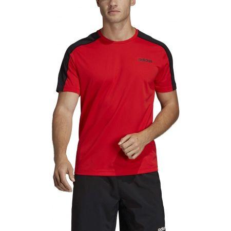 Pánske tričko - adidas DESIGN2MOVE TEE PLAIN - 3