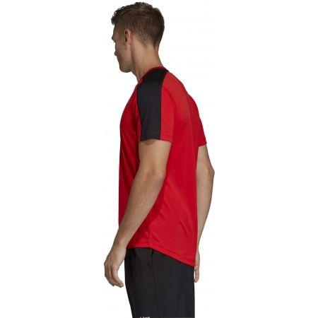 Pánske tričko - adidas DESIGN2MOVE TEE PLAIN - 5
