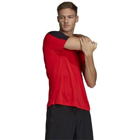 Pánske tričko - adidas DESIGN2MOVE TEE PLAIN - 6