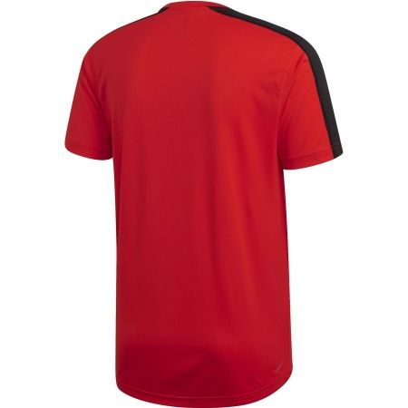 Pánske tričko - adidas DESIGN2MOVE TEE PLAIN - 2