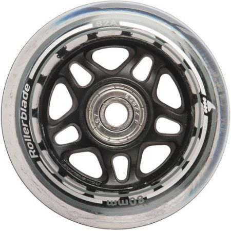 Set of spare in-line wheels - Rollerblade 80-82A+SG7+8MMSP - 2