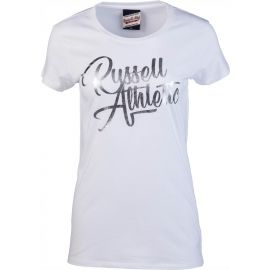 Russell Athletic S/S SCRIPT CREW - Tricou damă