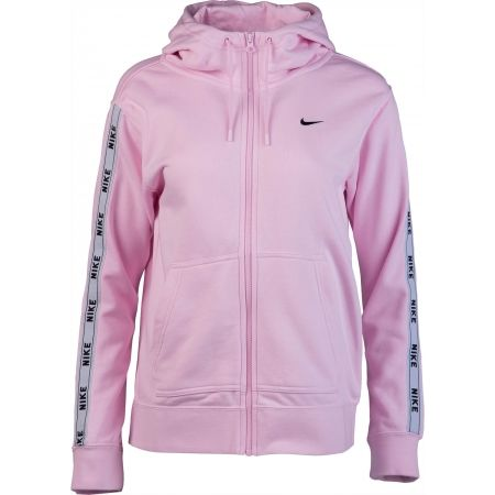 nike hoodie logo tape