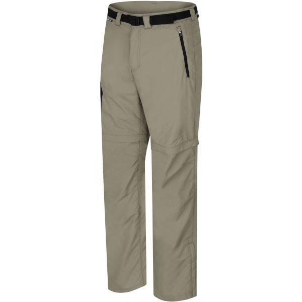 Hannah WRAP II hnědá S - Pánské kalhoty