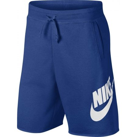 Мъжки къси панталони - Nike NSW HE SHORT FT ALUMNI - 1
