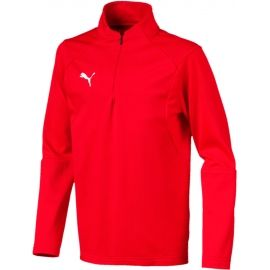 Puma LIGA TRAINING 1/4 ZIP TOP JR - Детски суитшърт