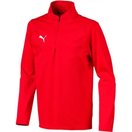 Puma LIGA TRAINING 1/4 ZIP TOP JR - Children's sweatshirt