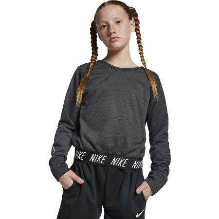 Nike STUDIO REVERSIBLE PO - Dievčenská tréningová mikina