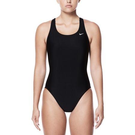Nike NYLON SOLIDS - Strój kąpielowy jednoczęściowy damski