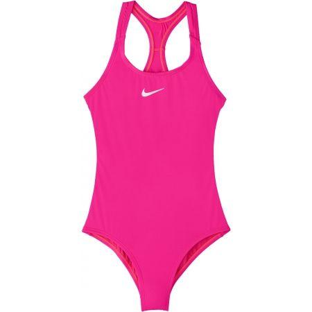 Nike SOLID - Dívčí jednodílné plavky