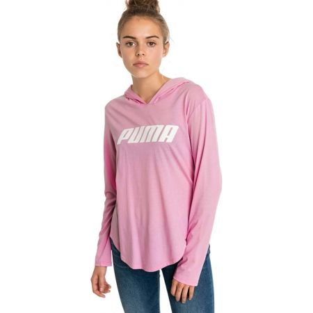 Women's sweatshirt - Puma MODERN SPORTS LIGHT COVER UP - 3