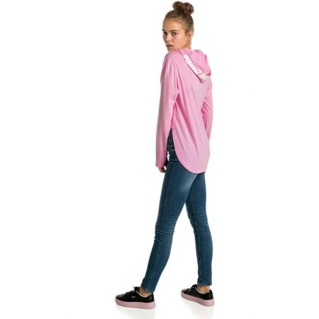 Women's sweatshirt - Puma MODERN SPORTS LIGHT COVER UP - 4