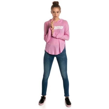 Women's sweatshirt - Puma MODERN SPORTS LIGHT COVER UP - 5